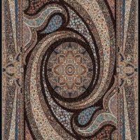 فرش ۷۰۰ شانه نقشه کهکشان سرمه ای