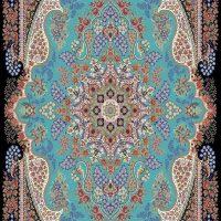 فرش ۷۰۰ شانه نقشه آروین الماسی