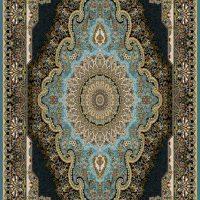 فرش ۷۰۰ شانه نقشه آپامه آبی