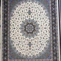 فرش ۱۲۰۰ شانه نقشه اصفهان کرم