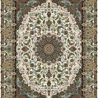 فرش ۷۰۰ شانه نقشه اصفهان کرم