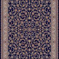 فرش ۷۰۰ شانه نقشه افشان سرمه ای