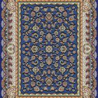 فرش ۱۰۰۰ شانه نقشه افشان سلطنتی کاربنی