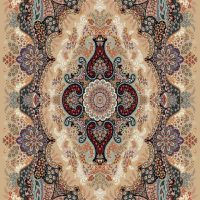 فرش ۷۰۰ شانه نقشه اهورا بادامی