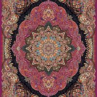 فرش ۱۰۰۰ شانه نقشه سارینا سوسنی