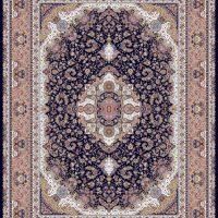 فرش ۱۲۰۰ شانه نقشه سالاری سرمه ای