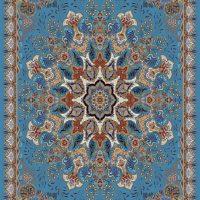 فرش ۷۰۰ شانه نقشه ساناز الماسی