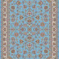 فرش ۱۲۰۰ شانه نقشه شاه بانو آبی