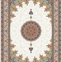 فرش ۱۰۰۰ شانه نقشه شاه عباسی کرم