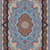 فرش ۱۰۰۰ شانه نقشه شاه پری الماسی