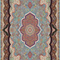 فرش ۷۰۰ شانه نقشه شاه پری الماسی