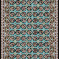 فرش ۱۰۰۰ شانه نقشه شهرزاد الماسی
