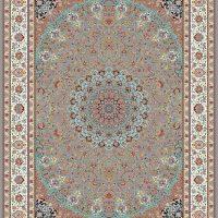 فرش ۱۲۰۰ شانه نقشه صاحب قرآن ترمه ای