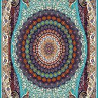 فرش ۷۰۰ شانه نقشه عقیق الماسی