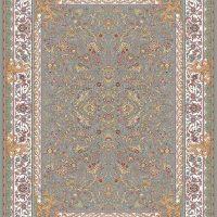 فرش ۱۲۰۰ شانه نقشه فرنگ ترمه ای