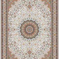 فرش ۱۲۰۰ شانه نقشه مشهد کرم