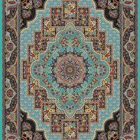 فرش ۱۰۰۰ شانه نقشه مهرنوش الماسی