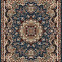 فرش ۱۰۰۰ شانه نقشه هلیا کاربنی