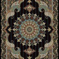 فرش ۷۰۰ شانه نقشه پریماه سرمه ای