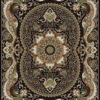 فرش ۷۰۰ شانه نقشه چیچک سرمه ای