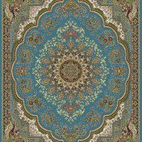 فرش ۷۰۰ شانه نقشه کومه آبی