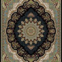 فرش ۷۰۰ شانه نقشه کومه سرمه ای