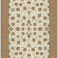 فرش ۱۰۰۰ شانه کد ۳۰۱۲ کنار حاشیه گلبهی