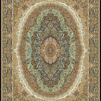 فرش ۱۰۰۰ شانه کد ۳۰۲۱ سرمه ای