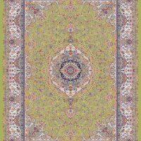 فرش ۱۲۰۰ شانه کد ۷۰۰۴ سبز