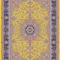 فرش ۱۲۰۰ شانه کد ۷۰۰۴ زرد