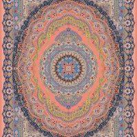 فرش ۱۲۰۰ شانه کد ۷۰۰۵ گلبهی