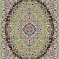 فرش ۱۲۰۰ شانه کد ۷۰۰۵ سبز
