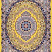 فرش ۱۲۰۰ شانه کد ۷۰۰۵ زرد