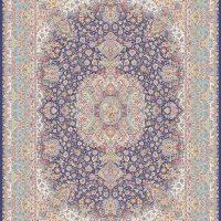 فرش ۱۲۰۰ شانه کد ۷۰۱۳ سرمه ای
