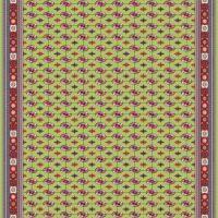 فرش ۱۲۰۰ شانه کد ۹۰۰۱ سبز