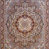 فرش ۱۰۰۰ شانه نقشه سیمین زیتونی