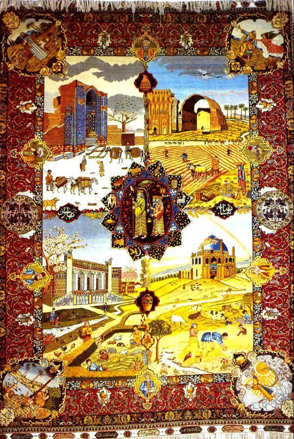 تاریخ قالی بافی آذربایجان