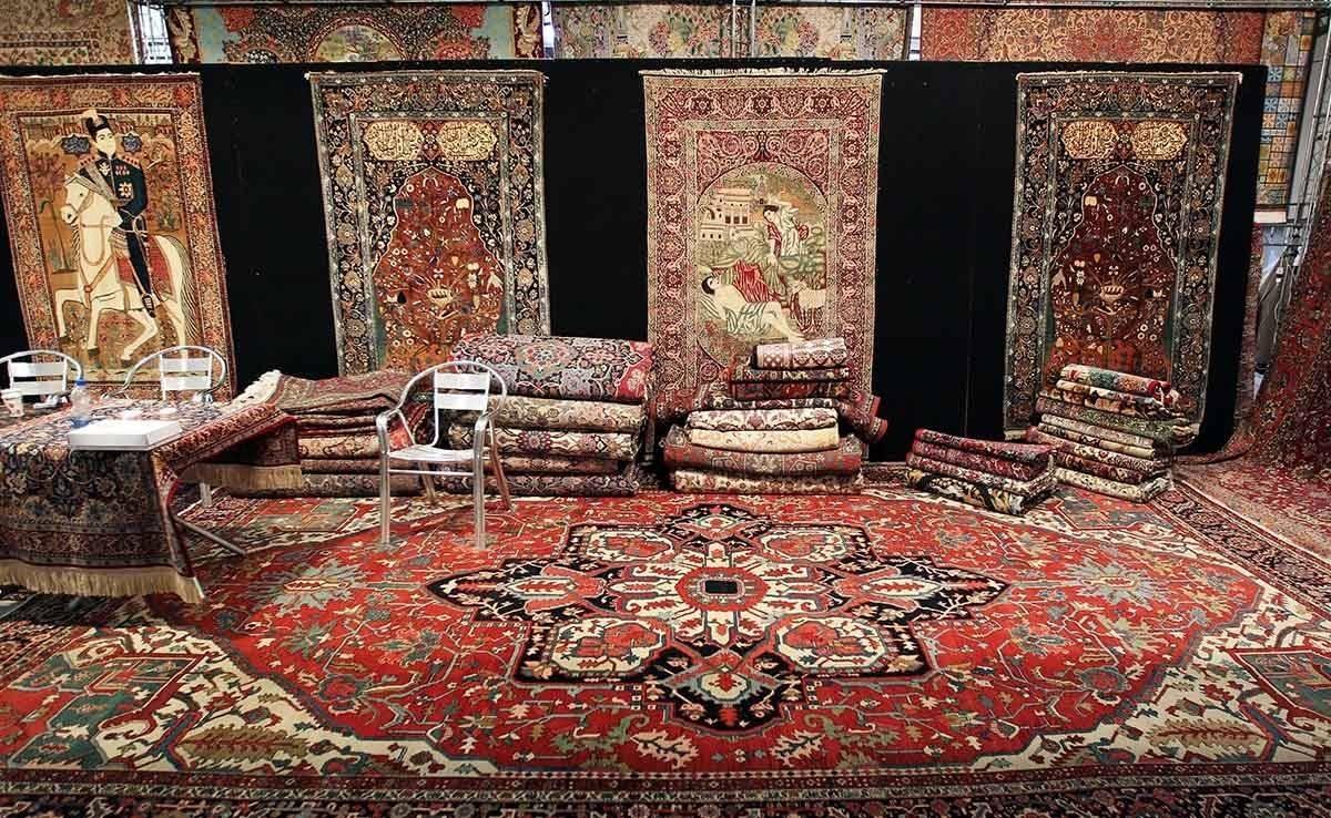سهم ایران در فروش فرش در بازارهای جهانی