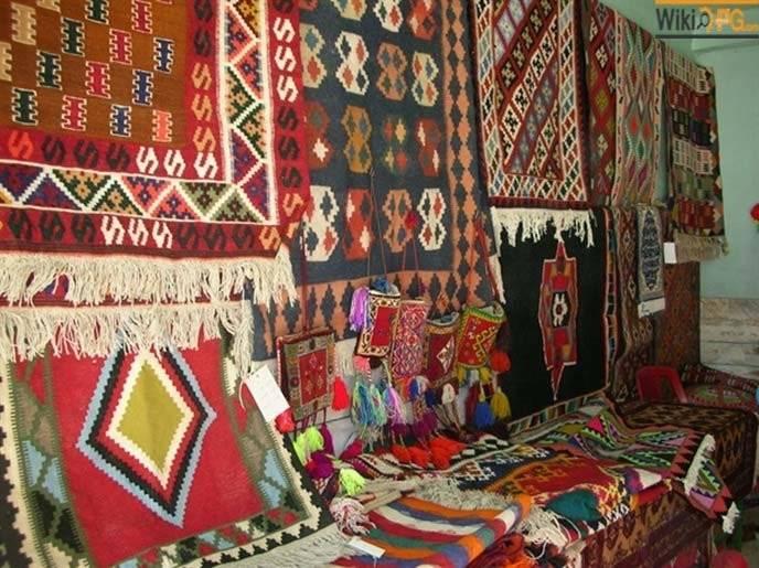 سهم فرش ایرانی در بازار جهان
