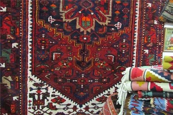 فرش ایرانی چینی میشود