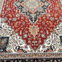 فرش ۷۰۰ شانه نگین مشهد هلال نقشه هریس روناسی