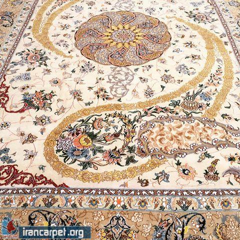 سیرتکامل وتحول بته جقه در فرش ایرانی