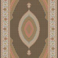 فرش ۷۰۰ شانه نگین مشهد هلال نقشه رزماهی سلطان لاکی کد ۲۰۳۶