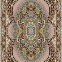 فرش ۷۰۰ شانه نگین مشهد هلال نقشه مهبد موشی کد ۲۰۵۲
