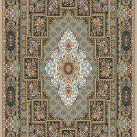 فرش ۷۰۰ شانه نگین مشهد هلال نقشه چیتا موشی کد ۲۰۵۳
