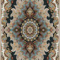 فرش ۷۰۰ شانه نگین مشهد هلال نقشه ملورین موشی کد ۲۰۵۴
