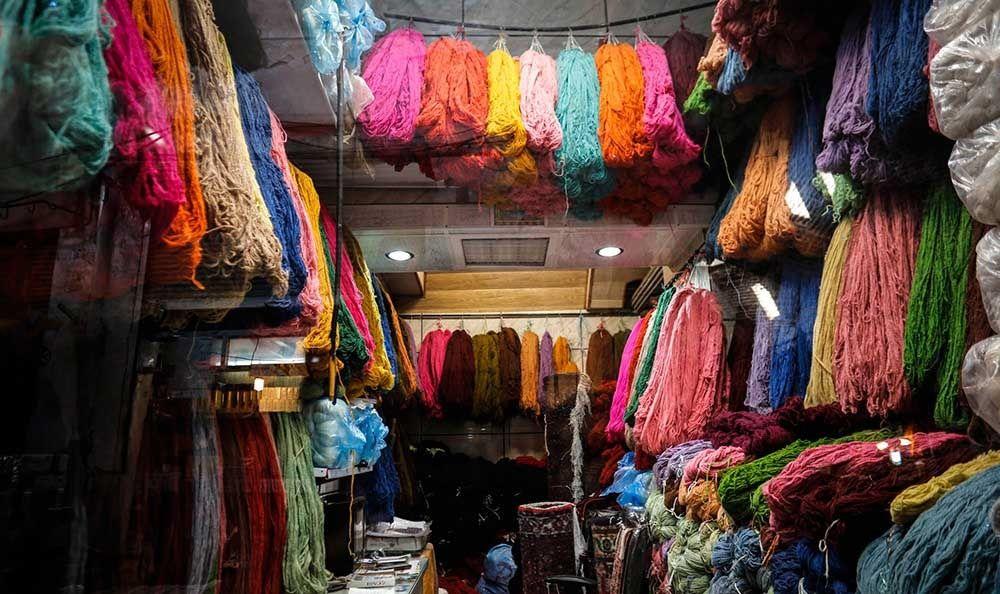 رنگرزی فرش دستباف ایران