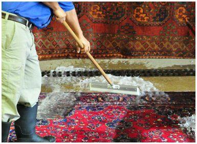 چگونگی شستن فرش در منزل