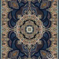 فرش قیطران ۱۲۰۰ شانه نقشه نسرین لاجوردی