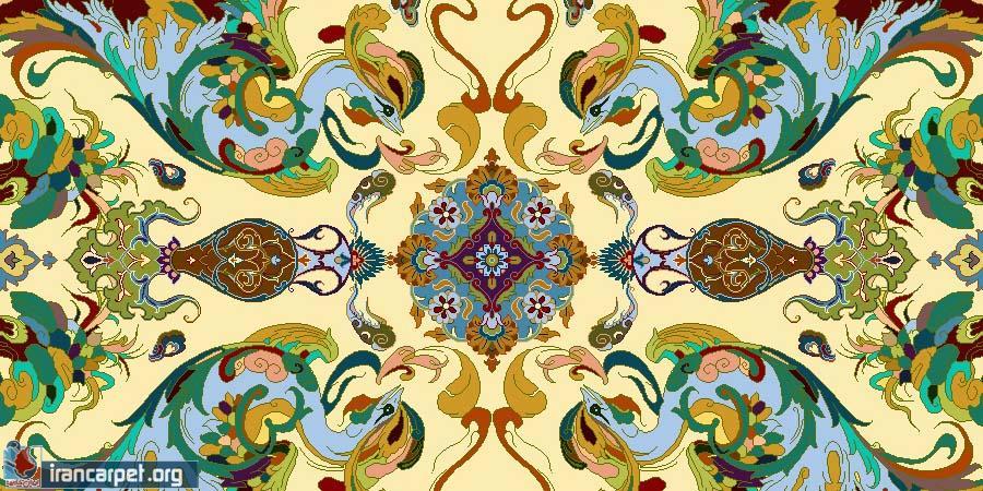 نقش و نگارهای فرش دستباف